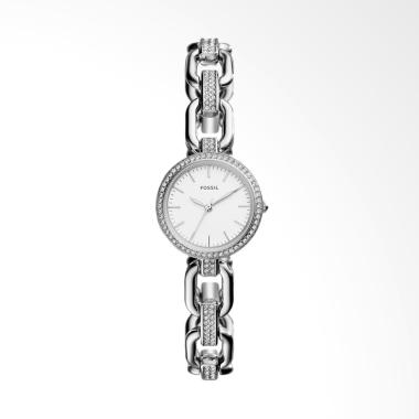 Fossil ES 4124 Kerstyn Three-Hand Stainless Steel Watch Jam Tangan Fashion Wanita
