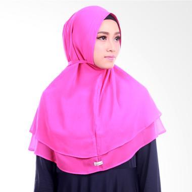 Inara House Khimar Maysun Non Pet Jilbab Instant - Violet