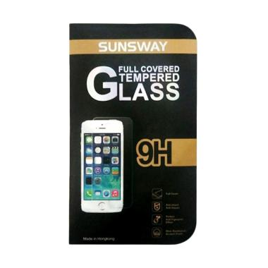 Sunsway Tempered Glass Screen Protector for Samsung A5 2016 [0.26 mm/2.5D]