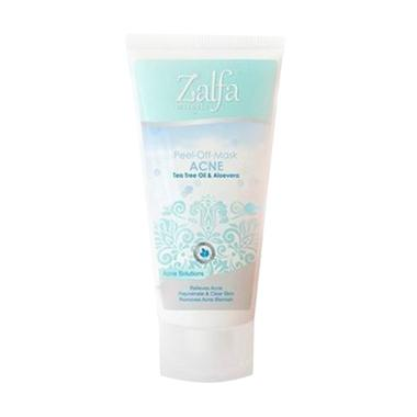Zalfa Miracle Peel Of Mask Acne Kosmetik Masker Wajah