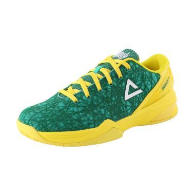 PEAK Delly 1 Sepatu Basket - Down Under Green Yellow EW7201A