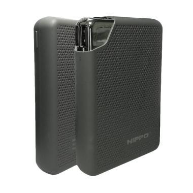 HIPPO Bronz X Powerbank - Gray [10000 mAh/ Real Capacity]
