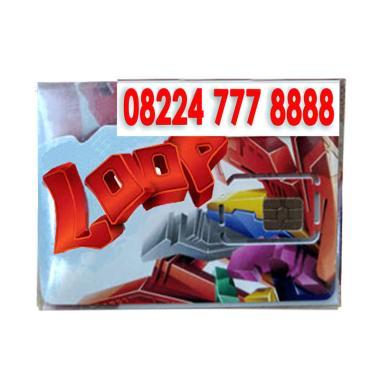 Telkomsel Hoki Loop Nomor Cantik 08224 777 8888 Kartu Perdana