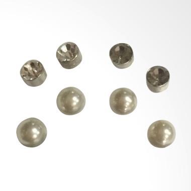 Mastindo Accessories MA-050414 Earring - Pearl White
