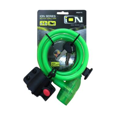 ION XR 2515 Gembok Sepeda - Green
