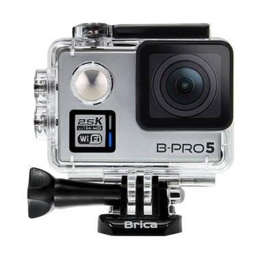 Brica B-PRO 5 Alpha Plus Version 2  ... Paket Action Cam - Silver