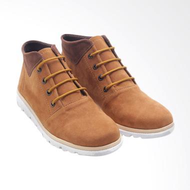 Dr.Kevin 4016 Leather Boot Sepatu Wanita - Tan