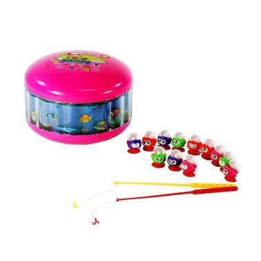 TIMMY Fishing Game Pancing Ikan Mainan Anak - Pink