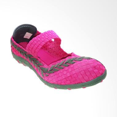 Bernice 551 Sepatu Rajut Wanita - Pink