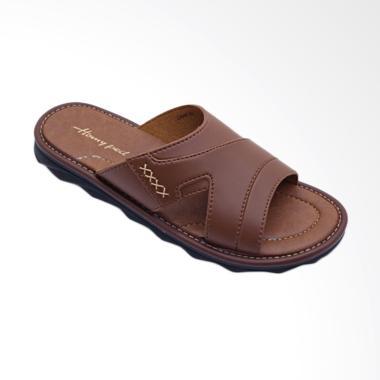 Homyped Civic Sandal Pria - Tan 03