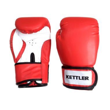 Kettler Boxing Gloves - Red [10-OZ] 0991-110