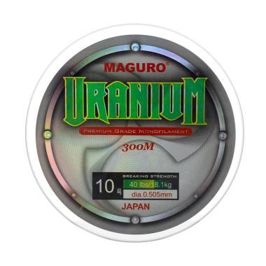 Maguro Uranium Line Monofilament Senar Pancing [0.28 mm]