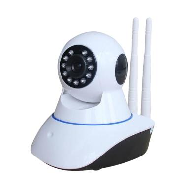 harga Glitzglozz WiFi Camera CCTV [Dual Antena/ 720P HD/ IR Night Vision] Blibli.com