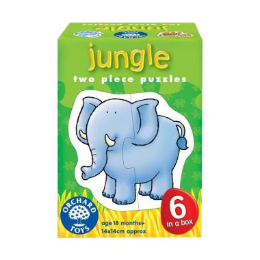 Orchard Toys Jungle Mainan Puzzle