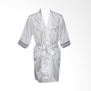 Deoclaus Lingerie Kimono KS1 Fashio ... r Baju Tidur Sexy - White