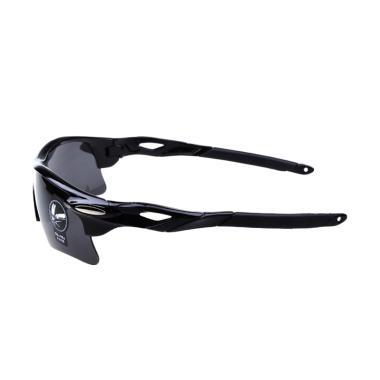 OULAIOU Lensa Mercury Kacamata Sepeda - Black 009181