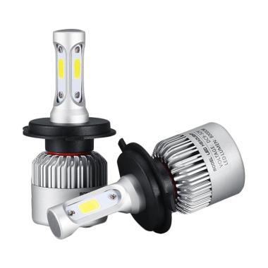Lampu Mobil LED H4 8000Lm 6000k 72Watt/Pair 36Watt/Blub