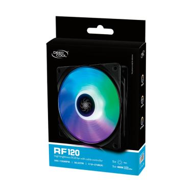 DEEPCOOL RF120 RGB Kipas Fan Komputer