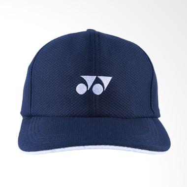 YONEX Original Topi Tennis Badminton Unisex - Navy Blue [CAP W341]