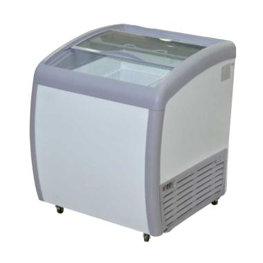 GEA GETRA SD-160BY Sliding Curve Glass Freezer