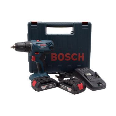 Bosch GSB 180-LI Cordless Impact Drill with Acc Kit Mesin Bor
