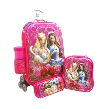 DJ Fashion 0498 6D 4in1 dan Ransel Tas Trolley Anak