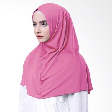 Najwa Hijab Kaos Katun TC Premium Jilbab Instan - Pink