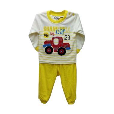 Leeva 524B Baju Tidur Anak - Yellow
