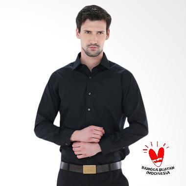 FG Clothing Kemeja Formal Pria - Hitam