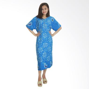 Batik Alhadi RDT001-10C Daster Bati ...  Baju Tidur Lengan Pendek