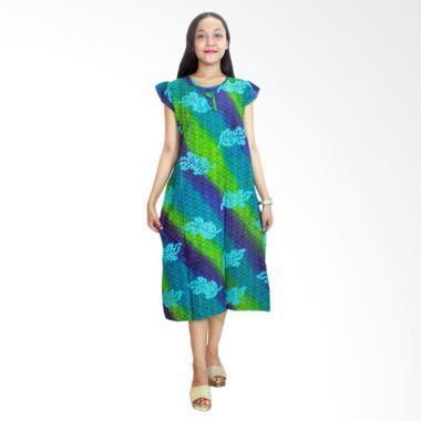Batik Alhadi RDT006-01B Daster Yukensi Batik Cap Pekalongan Baju Tidur