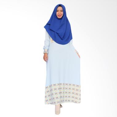 SOFEYA Aldea Gamis Syar'i Ibu Menyusui - Blue