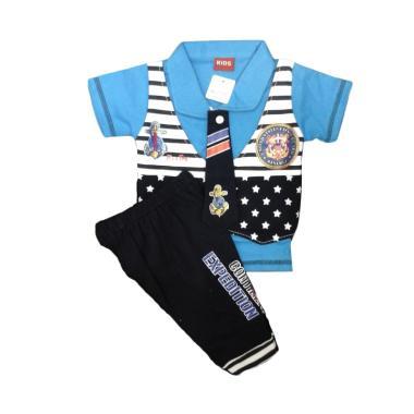 Baby Zakumi 1117 Kids Setelan Expedition Okr Setelan Baju Anak - Biru