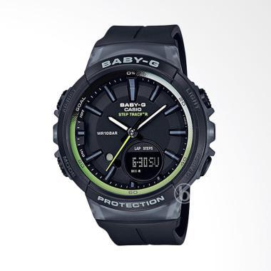 CASIO Baby-G BGS-100-1ADR Step Tracker Jam Tangan Wanita - Black