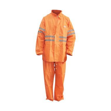 Tiger Head Jas Hujan Setelan Dewasa 111102 - Orange Stabilo