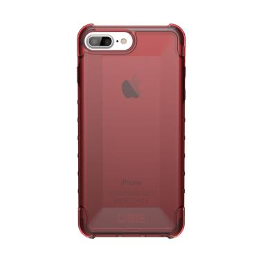 UAG Plyo Crimson Casing for iPhone  ... ch - Dark Red Transparent