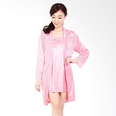 You've 113 Kimono Clara Sleepwear Baju Tidur Wanita - Pink