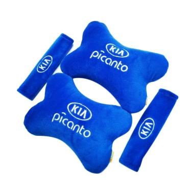 harga Indonesia Motor Motif KIA Picanto Set Aksesoris Interior Mobil - Blue Blibli.com