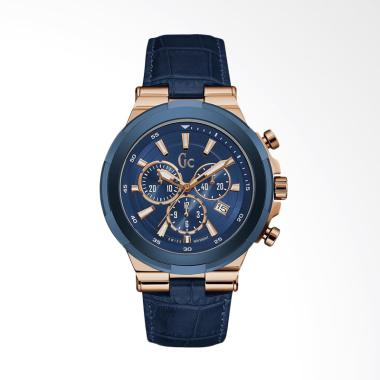 Guess Collection Jam Tangan Pria - Blue [GC Y23006G7]