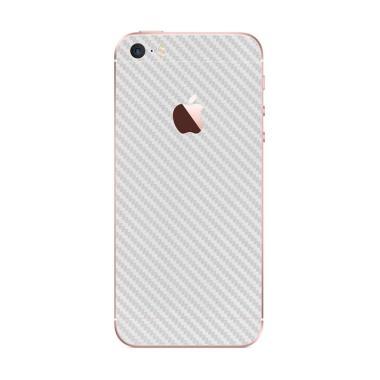 9Skin Premium Skin Protector for iPhone 5/5S/SE - White Carbon [3M]