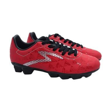 Specs Quark Sepatu Sepakbola Pria - Red [FG-100757]