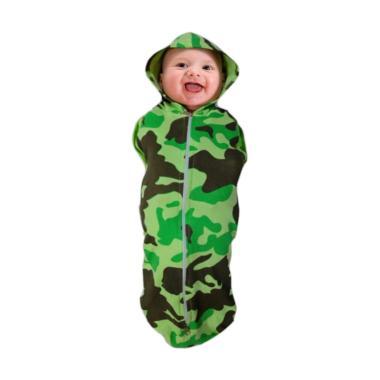 Orange Bedong Bayi Praktis - Army