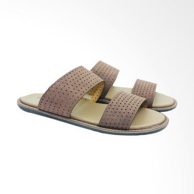 Dr.Kevin Leather Sandals Men - Brown [17217]