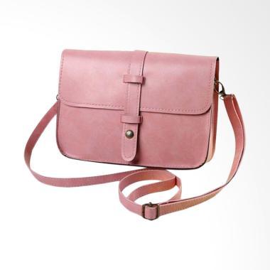 Lansdeal Women Vintage Purse Leathe ... ag Tas Wanita - Soft Pink