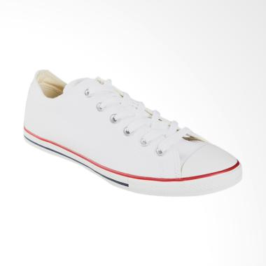 Converse Chuck Taylor All Star Lean Sneakers Pria - White [142270C]