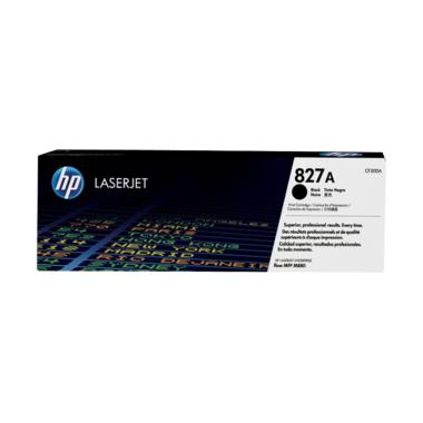 HP 827A LaserJet Toner Cartridge - Black