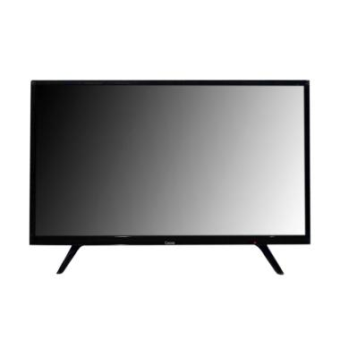 Coocaa 32E2A12G LED TV - Hitam [32 Inch/Khusus Jadetabek]