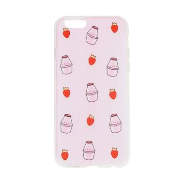 United Shop Strawmilky Casing for Oppo A39 - Pink