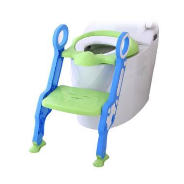 Baby Safe UF005 Step Ladder Potty Kursi Toilet Training Tangga - Blue
