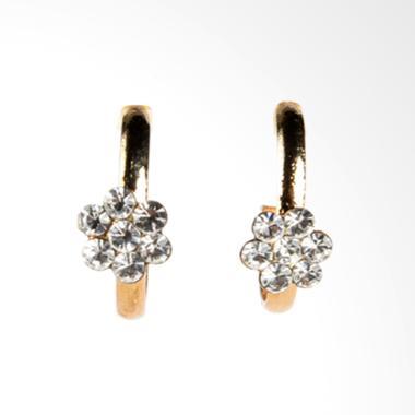 1901 Jewelry Swastika Flower GW.4387.HR52 Giwang Women Earrings - Gold